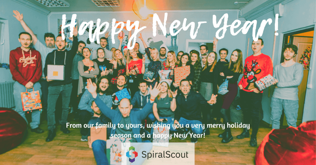 Happy New Year from Spiral Scout!