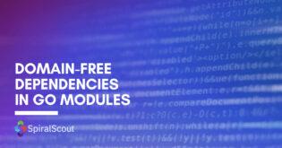 Domain-Free Dependencies in Go Modules